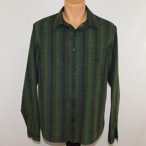 Prana long sleeve button down shirt.  L